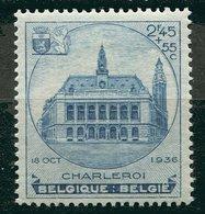 Belgique ** N° 437  - Exposition De Charleroi - 1929-1941 Big Montenez