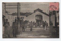 - CPA SAINT-MAIXENT (79) - Quartier De Cavalerie De L'Ecole Militaire 1905 (belle Animation) - Edition Nauche N° 19 - - Saint Maixent L'Ecole