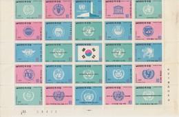 COREE BLOC UN ORGANISATION  Légères Taches - Corée Du Sud