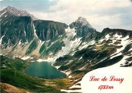 Dép 74 - Le Petit Bornand - Le Lac De Lessy - Le Mont Jalouvre - Moderne Grand Format - état - Frankrijk
