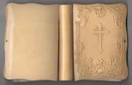 PAROISSIEN ROMAIN - DEPELLEY ET Cie 1909, Couverture En Os Sculptée - Religion & Esotericism