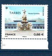 France 2019.Tarbes.cachet Rond Gomme D'origine. - France