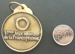 Lebanon 2009 Francophonie 6th Games Very Beautiful Medal - Other