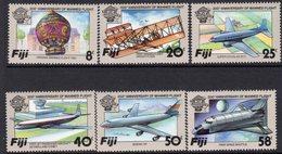 Fiji 1983 Bicentenary Of Manned Flight Set Of 6, MNH, SG 659/64 (BP2) - Fiji (1970-...)