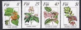 Fiji 1983 Flowers I Set Of 4, MNH, SG 665/8 (BP2) - Fiji (1970-...)