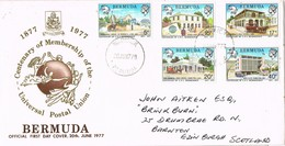 33181. Carta WARWICK (Bermuda) 1978. Centenary U.P.U. Universal Postal Union - Bermudas