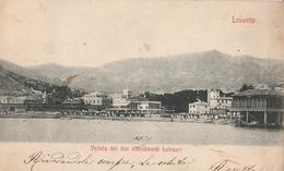 Cartolina - Postcard / Viaggiata -sent /  Levanto, Veduta Stabilimenti Balneari. - La Spezia