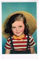 Portrait Of Little Girl With Hat, Village D'enfants De France, Ed. Superluxe Paris (pk59686) - Portraits