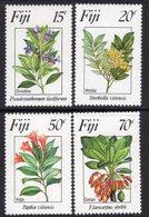 Fiji 1984 Flowers II Set Of 4, MNH, SG 680/3 (BP2) - Fiji (1970-...)