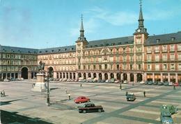MADRID-PIAZA MAYOR-VIAGGIATA 1965 -F.G - Madrid