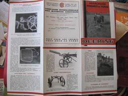 Dépliant 6 Volets - DEERING - ARRACHEUSE DE POMMES DE TERRE - Agriculture