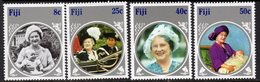 Fiji 1985 Life & Times Of The Queen Mother Set Of 4, MNH, SG 701/4 (BP2) - Fiji (1970-...)