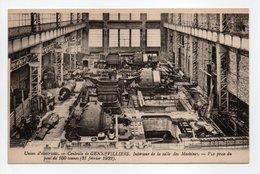 - CPA GENNEVILLIERS (92) - Centrale Electrique - Intérieur De La Salle Des Machines - Vue Prise Du Pont De 100 Tonnes - - Gennevilliers