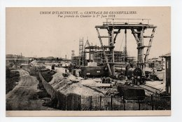 - CPA GENNEVILLIERS (92) - Centrale Electrique - Vue Générale Du Chantier Le 1er Juin 1921 - - Gennevilliers