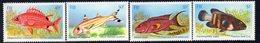 Fiji 1985 Shallow Water Fish Set Of 4, MNH, SG 706/9 (BP2) - Fiji (1970-...)