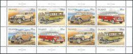 ISLAND 1996 Mi-Nr. 846/49 Kleinbogen ** MNH - Blocks & Kleinbögen