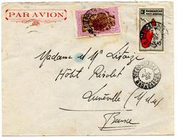 Lettre Par Avion De Diego Suarez (7.07.1939) Pour Lunevile - Madagascar (1889-1960)