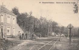 Chaumont  - Gistoux  , Station Du Vicinal  De Gistoux  , N° 10  ( Gare Du Tram )( Pas Courante , Edit. Laflotte ) - Chaumont-Gistoux