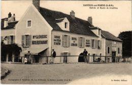 CPA NANTEUIL-sur-MARNE Entrée Et Route De Crouttes (861489) - Altri Comuni