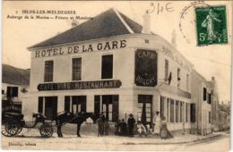 CPA ISLES-les-MELDEUSES Auberge De La Marine Friture Et Matelotte (861498) - Altri Comuni