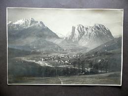 Grande Fotografia Agordo Agner Pale Di S. Lucano Foto Burloni Belluno Anni '20 - Foto