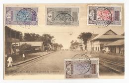 Guinée Conakry Boulevard Du Commerce Carte Postale Ancienne - Guinée Française