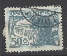 Austria - 1925 - Usato/used - Posta Aerea - Mi N. 477 - Oblitérés