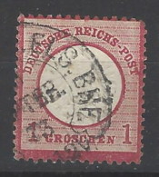 Germania - 1872 - Usato/used - Ordinari - Mi N. 19 - Germany
