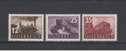 Austria - 1937 - Nuovo/new MNH - Treni - Mi N. 646/48 - 1918-1945 1a Repubblica