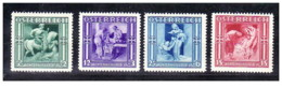 Austria - 1936 - Nuovo/new MNH - Winterhilfe - Mi N. 628/31 - 1918-1945 1a Repubblica