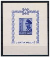 Croazia - 1943 - Nuovo/new MNH - Mi Bl. 4B - Croazia