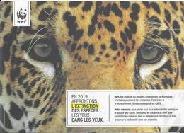 Dépliant WWF. Les Espèces Menacées. (Voir Commentaires) - W.W.F.