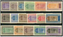 Haut Senegal Et Niger (1914) N 18 à 34 * (charniere) - Ongebruikt