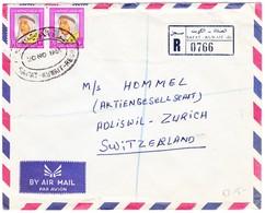 1864 R-Brief Aus Safat Nach Adliswil; Brief Unten Risschen - Kuwait