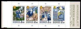 SWEDEN 1986 Stockholmia '86 Exhibition Booklet MNH / **.  Michel MH116 - Booklets