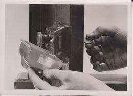 ANTI BURGLAR DEVICE LOCK PROTECTING DEVICE   16*12CM Fonds Victor FORBIN 1864-1947 - Fotos