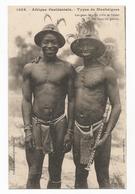 Sénégal Types De Mankaignes Avec Les Dents Limées En Pointe Carte Postale Ancienne - Senegal