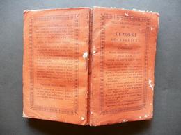 Lezioni Accademiche Di Evangelista Torricelli Silvestri Milano 1823 - Libri, Riviste, Fumetti