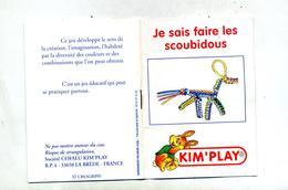 Notice  Faire Scoubidou Kim'play Lapin - Creative Hobbies