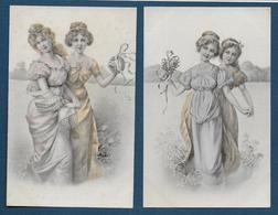 Femmes - Série De 6 Cartes ( édit B.K.W.I. ) - Illustrateurs & Photographes