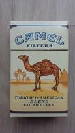 Zündholzschachtel Mit Zigaretten-Werbung (CAMEL) - Zündholzschachteln