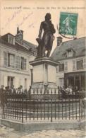 60 - Liancourt - Statue Du Duc De La Rochefoucauld (boulangerie) - Liancourt