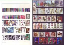 Gran Bretagna - Lotto Di 120 Francobolli Usati, Con Molte Serie Complete - Collections