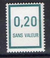 FRANCE (  FICTIF  ) : Y&T  N°  F223  TIMBRE  NEUF  SANS  TRACE  DE  CHARNIERE . - Phantomausgaben