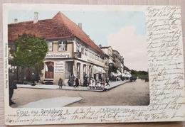 Gruss Aus Rendsburg Königstrasse 1910 - Non Classificati