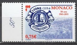 TIMBRE - MONACO - 2011 - Nr 2777 - Neuf - Monaco