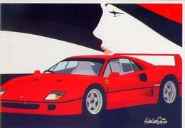 Ferrari - Autovettura - Amleto Dalla Costa - Formato Grande Non Viaggiata - Unclassified