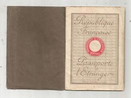 Passeport à L'étranger , France ,1930, De ST MAIXENT L'ECOLE ,79 , Cachets , Visa SUISSE , 5scans, Frais Fr 1.95 E - Documentos Antiguos