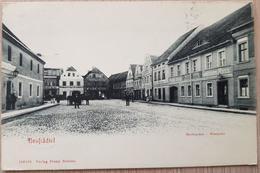 Neustädtel Markplatz  Zum Bergen 1906 - Deutschland