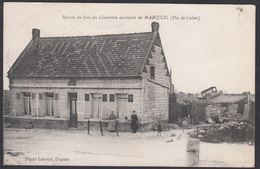 CPA 62 -  Maison En Face Du Cimetiere Militaire De MAROEUIL, ( Pas De Calais ) - France